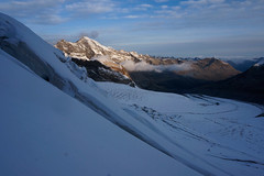 _DSC3050 (farix.) Tags: alpen alps alpy schweiz switzerland szwajcaria trekking treking grat grań piz palu bernina berninagruppe gletscher lodowiec śnieg snow schnee
