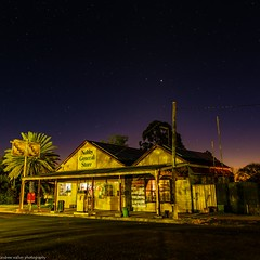 the country store (andrew.walker28) Tags: night nightscape stars starscape long exposure darling downs nobby shop store