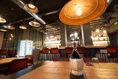 _DSC2159 (fdpdesign) Tags: pizzamaria pizzeria genova viacecchi foce italia italy design nikon d800 d200 furniture shopdesign industrial lampade arredo arredamento legno ferro abete tavoli sedie locali
