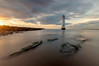 New Brighton Lighthouse (Mariusz Talarek) Tags: lighthouse liverpool mtphotography merseyside newbrighton architecture beach clouds landscape nature outdoors reflection sand sea seascape sky sunset water