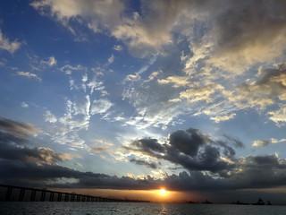 Sunset. Guanabara Bay. Rio de Janeiro, Brazil