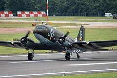 C-47A taxiing in (Craig S Martin) Tags: douglas dc3 c47 usaaf wwii 4315211 315211 j8b n1944a warbird raf fairford ffd egva airshow riat aviation