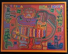 Mola Guna Kuna Panama Sirena Mermaid (Teyacapan) Tags: molas panama kuna guna cuna mermaid sirena textiles