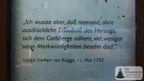 Tweetwalk Schloss Karlsberg