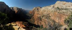 Zion NP_061 (Thomas Jundt + CV) Tags: angelslanding mountmajestic nationalpark panorama usa utah zioncanyon zionnp