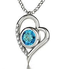 I Love You Silver Heart Pendant (globalepro) Tags: blue blueswarovskicrystal crystal gold heart iloveyou inscribed inscribedin12languages languages love necklace pendant silver silverheartpendant swarovski