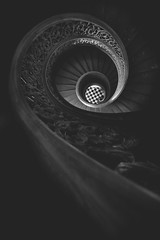 Baltimore // Peabody Spiral (Matt Greenland) Tags: baltimore peabody library george canon canon6d 14mm rokinion staircase black white bw spiral checkers university maryland architectural details architecture hopkins approved circle round wheel geometric