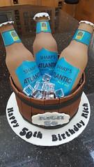 Beer Barrel (Victorious_Sponge) Tags: beer barrel birthday cake 40th 50th 30th bottle mans men boys