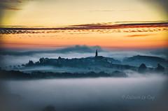 Until the philosophy (Fabrice Le Coq) Tags: landscape paysage ciel nuages leversoleil soleil arbre village matin soir fabricelecoq