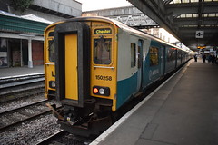 ATW 150258, 09/08/17. (MKT Transport Photography) Tags: train uk railway british brel dmu sprinter rail arriva shropshire 2car