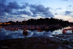 Ploumanac'h, Brittany, France (Ineke Klaassen) Tags: harbour harbor village ploumanach côtesdarmor côtedegranitrose brittany bretagne france frankrijk lannion water sky clouds evening night nacht avond bluehour sony sonyimages sonya6000 sonyalpha sonyalpha6000 sonyilce6000 sonyphotography sonyalphateam sonyalphalab landschap landscape landscapes landschaft boats reflection exceptsecondlife mirrorless 50mm waterscape zoomnl europe europa port portploumanach 30faves 35faves 1000views