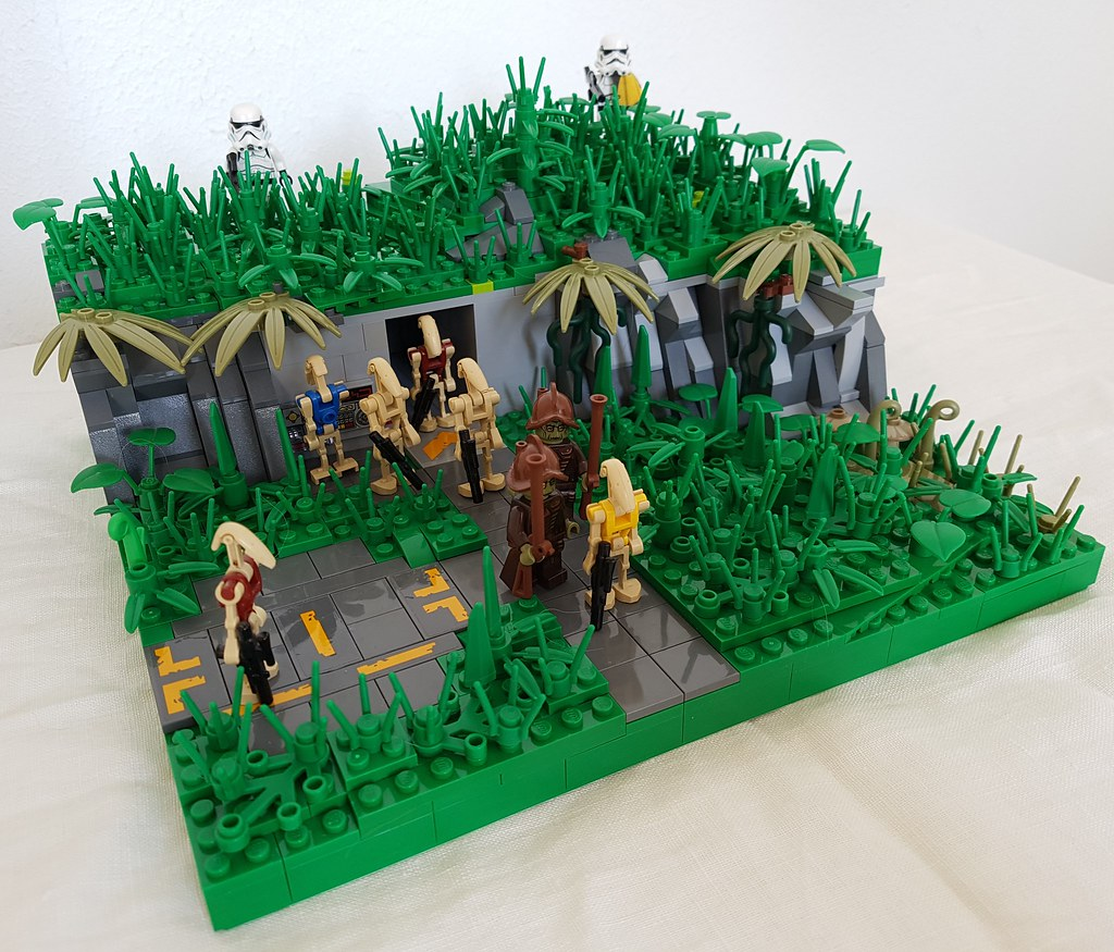 The world 39 s most recently posted photos of lego and separatist flickr hive mind - Lego star wars base droide ...
