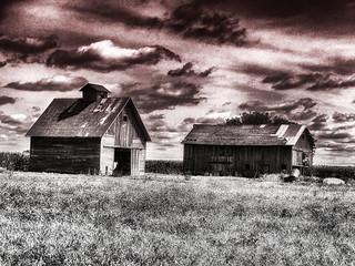 Barn and Crib