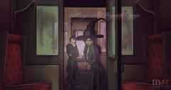 Magic on the Hogwarts Express (Hogwarts Mischief Managed) Tags: secondlife secondlifeharrypotter secondliferoleplay secondlifemischiefmanaged secondliferp roleplay hogwartsroleplay harrypotterroleplay hogwarts hogwartsmischiefmanaged hogsmeade hogwartsexpress mischiefmanaged mischiefmanagedsecondlife mythology transfiguration professor witch wizard magic