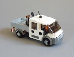 Fiat Ducato 3450 Transporter (MOCs & Stuff) Tags: lego city town fiat ducato 3450 transporter double cabin