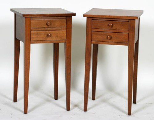 Two Clore 2-Drawer Stands ($504.00 and $616.00)