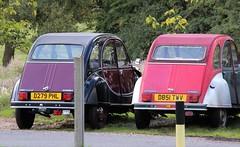 D279 PHL & D851 TWV (2) (Nivek.Old.Gold) Tags: 1986 citroen 2cv6 special 602cc 1987 charleston