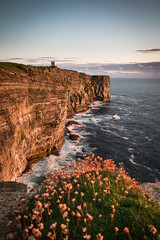 Moment of Golden Light (MBDGE) Tags: orkney sea scotland seascape cliffs cloud canon70d edge longexposure neutraldensity marwick marwickhead alba uk manfrotto tripod