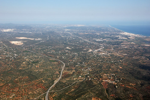 Algarve from the air