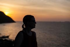 Profile Picture - _TNY_7304 (Calle Söderberg) Tags: canon canon5dmkii canoneos5dmarkii tamron tamronafsp247028divcusd 2470 sunsetbeach thailand kohlipe sunset solnedgång silhuett silhouette profile sea water sky pramongbeach sun orange f28 5d2