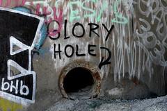 Glory Hole (LookSharpImages) Tags: lime oregon limeoregon abandoned abandonedspaces gloryhole graffiti