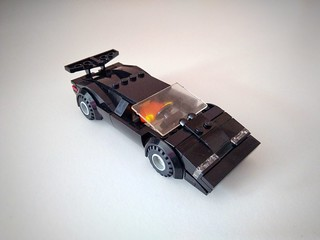 Lamborghini Countach. I already built spyder version of this car, but now it's even lower and I finally like it from all the angles!