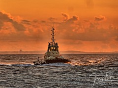 sunset tug portishead