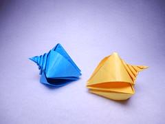 Spiral Shell (Toshikazu Kawasaki) (ayako kobayashi) Tags: spiralshell toshikazukawasaki origami