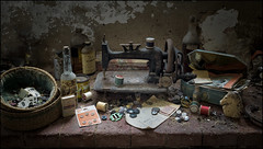 A stitch in time. (ducatidave60) Tags: fuji fujifilm fujixt1 fujinonxf23mmf14 abandoned decay dereliction urbandecay urbex