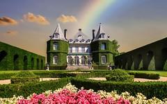 La Hulpe - 3461 (YᗩSᗰIᘉᗴ HᗴᘉS +7 000 000 thx❀) Tags: rainbow castle château lahulpe belgium belgique architecture bâtiment flower hensyasmine landscape 7dwf