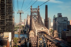 Queensboro Bridge (kareszzz) Tags: queensboro bridge architecture cityscape landscape canon6d ef24105 photowalk usa ny nyc newyork roosevelt island tramway rooseveltislandtramway cablecar rooseveltislandtram 2017 afternoon sumer