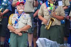 George Pinchock, Director of the National Scout Jamboree Band (Daniel M. Reck) Tags: 2017nationalscoutjamboree 2017jambo attsummitstadium bsa boyscoutsofamerica dmrfeature dmrphoto georgepinchock glenjean jamboreeband mounthope music nsj nationalscoutjamboree nationalscoutjamboreeband sbr scouting summitbechtelreserve westvirginia year2017 bandmusician student unitedstates