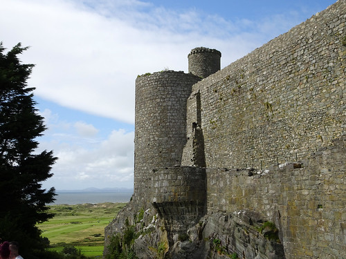 Tower of Harlech Castle