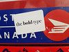 the bold type (Fred:) Tags: bold type sticker stickerart montreal postes canada post mailbox letterbox mail box boîte lettres letter stickers griffintown streetart collant autocollant