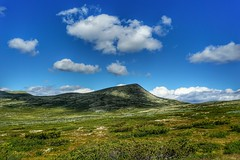 (...Ola_S...) Tags: norge oppland ringebufjellet sonyilce5100 sonyphotographer sony sonyalpha clouds blue landskap landscape green