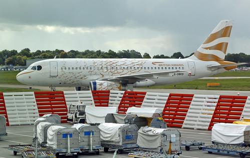 British Airways / Airbus A319-131 / G-DBCD