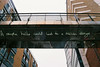 A simple hello could lead to a million things (zawtowers) Tags: croydon town centre walk sunday 3rd september 2017 architecture art public design old school film nikonf80 afnikkor2880mmf3356g slr camera lit sign bridge surrey street market a simple hello could lead million things asimplehellocouldleadtoamillionthings reflection