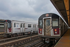 R188s Meet (Erie Limited) Tags: r188 nyct newyorkcitytransit 7train queensny newyorkcity