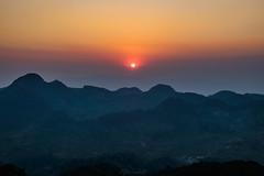 sunset (Flutechill) Tags: mountain nature sunset landscape hill scenics dawn sunrisedawn fog asia outdoors morning sky mountainpeak silhouette dusk forest mountainrange travel mist doiangkhang chiangmai thailand