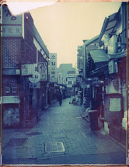 인사동 (○□○) Tags: polaroid polaroid195 type108 seoul korea 폴라로이드