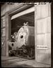 ORN197 boiler ~ old Brooklyn Roundhouse (Christopher Mark Perez) Tags: sp4449 orn197 oregonrailheritage oregon railroad railroadart trains steampower steamlocomotive steamengine steam polaroidtype55pn