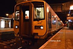 Irish Rail 2616/ 2605 & 2610/ 2613 Midleton Railway Station. (Roche B10M VanHool) Tags: irish rail 2616 2605 2610 2613 midleton railway station