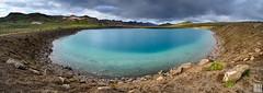 Grænavatn - the green explosion crater lake (gregor H) Tags: höfuðborgarsvæðið island is panorama 6x17 grænavatn green lake explosion crater extreme