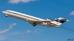 Boeing 727-200 HZ-AB3 Test Flight after maintenance (Vincent Vannier AéroSpot66) Tags: boeing 727 airplane world spotter heavy metal super 27 lfmp pgf perpignan eas maintenance old