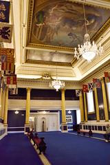 Saint Patrick's Hall (Rackelh) Tags: stateroom architecture interior hall blue room castle dublin ireland travel