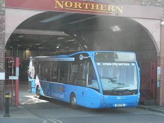 Go North East 8324 / NK11 FXG.