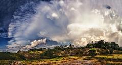 IMG_4252-58Ptzl1TBbLGERsc (ultravivid imaging) Tags: ultravividimaging ultra vivid imaging ultravivid colorful canon canon5dmk2 clouds sunsetclouds fields farm panoramic pennsylvania pa scenic vista rural summer evening