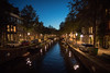 Canals at Night (cookedphotos) Tags: canon 5dmarkiv holland netherlands dutch travel streetphotography night canal water sky moon crescent amsterdam jordaan