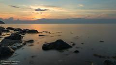 Après le coucher / Post sunset (Pierre Lemieux) Tags: montlouis québec canada ca sunset mer fleuve sea seascape