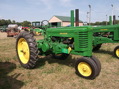 1947 John Deere type A tractor (cjp02) Tags: old fashion days festival north salem hendricks county indiana labor day weekend annual